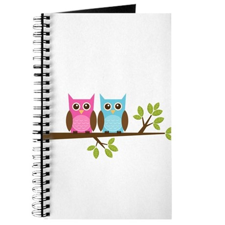 Two Owls on a Branch Journal