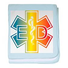 ED multicolor baby blanket