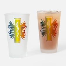 ER multicolor Drinking Glass