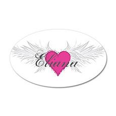 My Sweet Angel Eliana 20x12 Oval Wall Decal