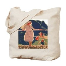 French TB fund raising poster, circa 1920 Tote Bag