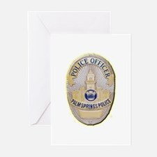 Palm Springs Police Greeting Cards (Pk of 20)