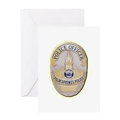Palm Springs Police Greeting Card