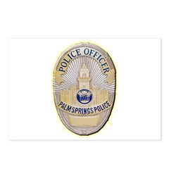 Palm Springs Police Postcards (Package of 8)