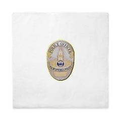 Palm Springs Police Queen Duvet