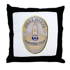 Palm Springs Police Throw Pillow