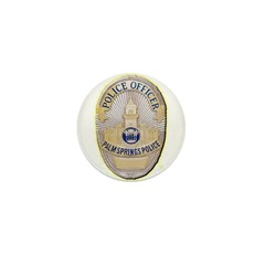 Palm Springs Police Mini Button (10 pack)
