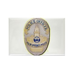 Palm Springs Police Rectangle Magnet (10 pack)