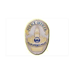 Palm Springs Police Wall Decal