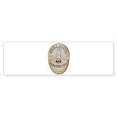 Palm Springs Police Bumper Sticker