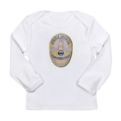 Palm Springs Police Long Sleeve Infant T-Shirt