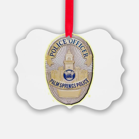Palm Springs Police Ornament