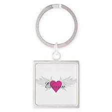 My Sweet Angel Elaina Square Keychain