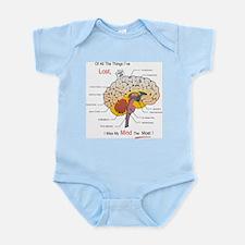 I miss my mind Infant Bodysuit