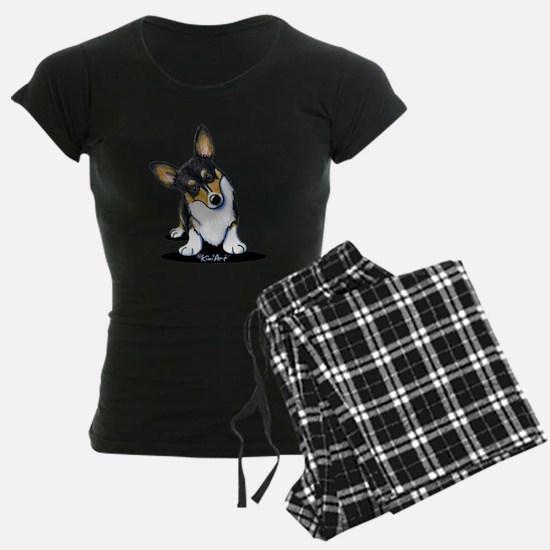 KiniArt Tricolor Corgi Pajamas