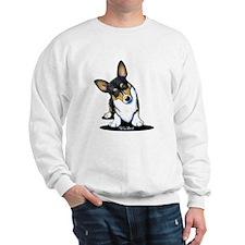 KiniArt Tricolor Corgi Sweatshirt