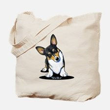 KiniArt Tricolor Corgi Tote Bag
