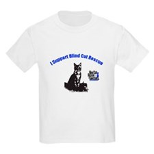 I support Blind Cat Rescue T-Shirt