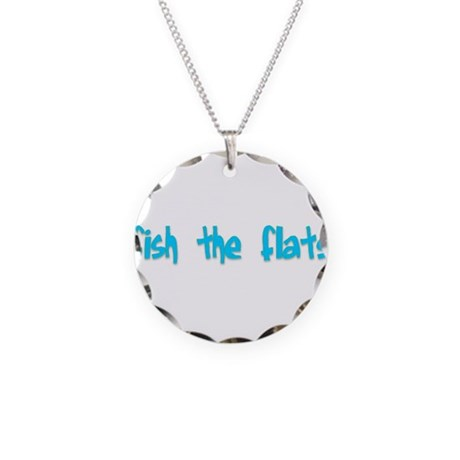 Fish the Flats.png Necklace Circle Charm