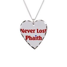 Never Lost Phaith.png Necklace