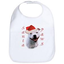 Santa Paws Bull Terrier Bib