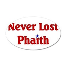 Never Lost Phaith.png Wall Decal
