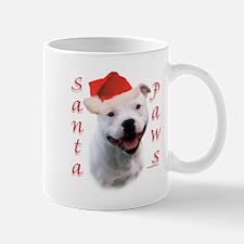 Santa Paws Bull Terrier Mug