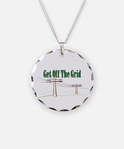 Get Off The Grid.png Necklace