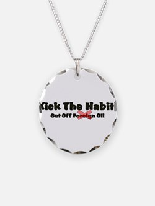 Kick The Habit!2.png Necklace