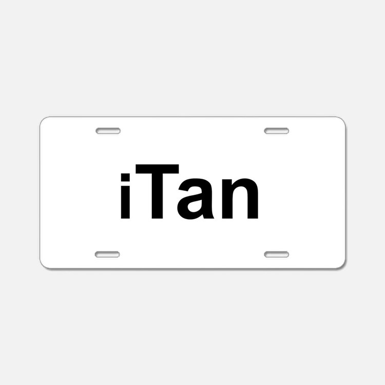 iTan.png Aluminum License Plate