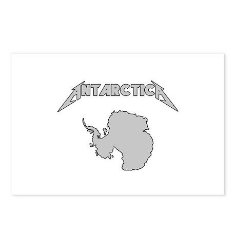 Antarctica - Metalllica Postcards (Package of 8)