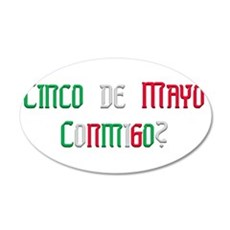 Conmigo.png 35x21 Oval Wall Decal