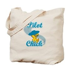 Pilot Chick #3 Tote Bag