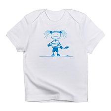 Funny Womens hockey Infant T-Shirt