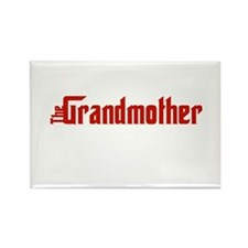 The Grandmother Rectangle Magnet