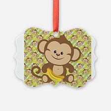 Cute Cartoon Monkey Ornament