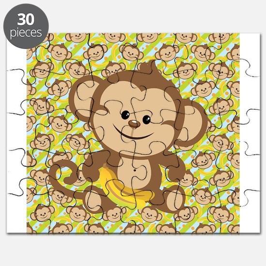 Cute Cartoon Monkey Puzzle