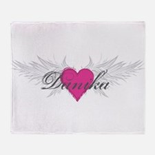 My Sweet Angel Danika Throw Blanket