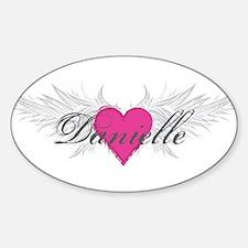 My Sweet Angel Danielle Sticker (Oval)