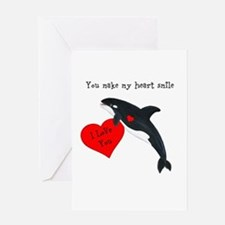 Personalized Whale Greeting Card