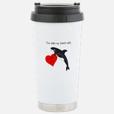Personalized Whale Travel Mug