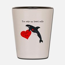 Personalized Whale Shot Glass