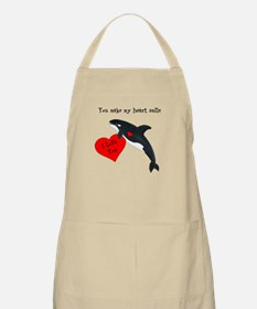 Personalized Whale Apron
