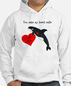 Personalized Whale Hoodie