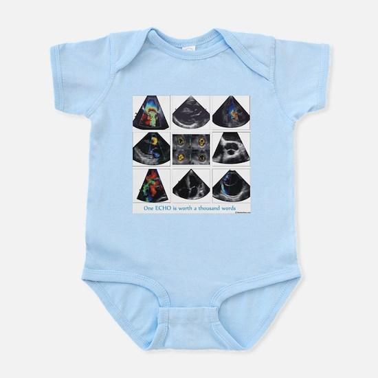 One echo Infant Bodysuit