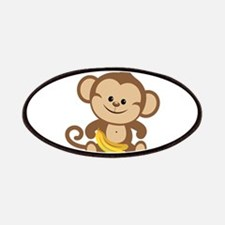 Cute Cartoon Monkey Patches