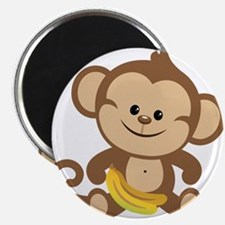 "Cute Cartoon Monkey 2.25"" Magnet (100 pack)"