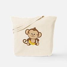 Cute Cartoon Monkey Tote Bag