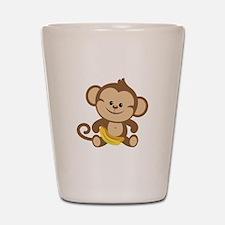 Cute Cartoon Monkey Shot Glass