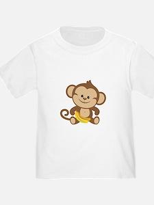 Cute Cartoon Monkey T